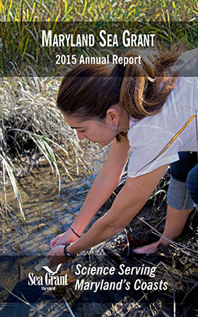 image of cover of Maryland Sea Grant's 2015 Annual Report