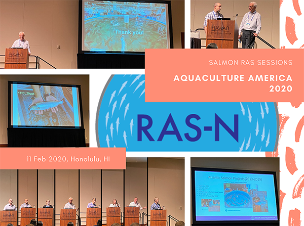 Participants in the Salmon RAS session at the Aquaculture America 2020 conference