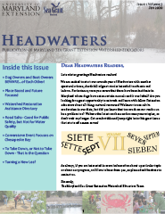 Front cover of Headwaters, Volume 7 Issue 1