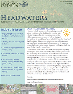 Front cover of Headwaters, Volume 6 Issue 2
