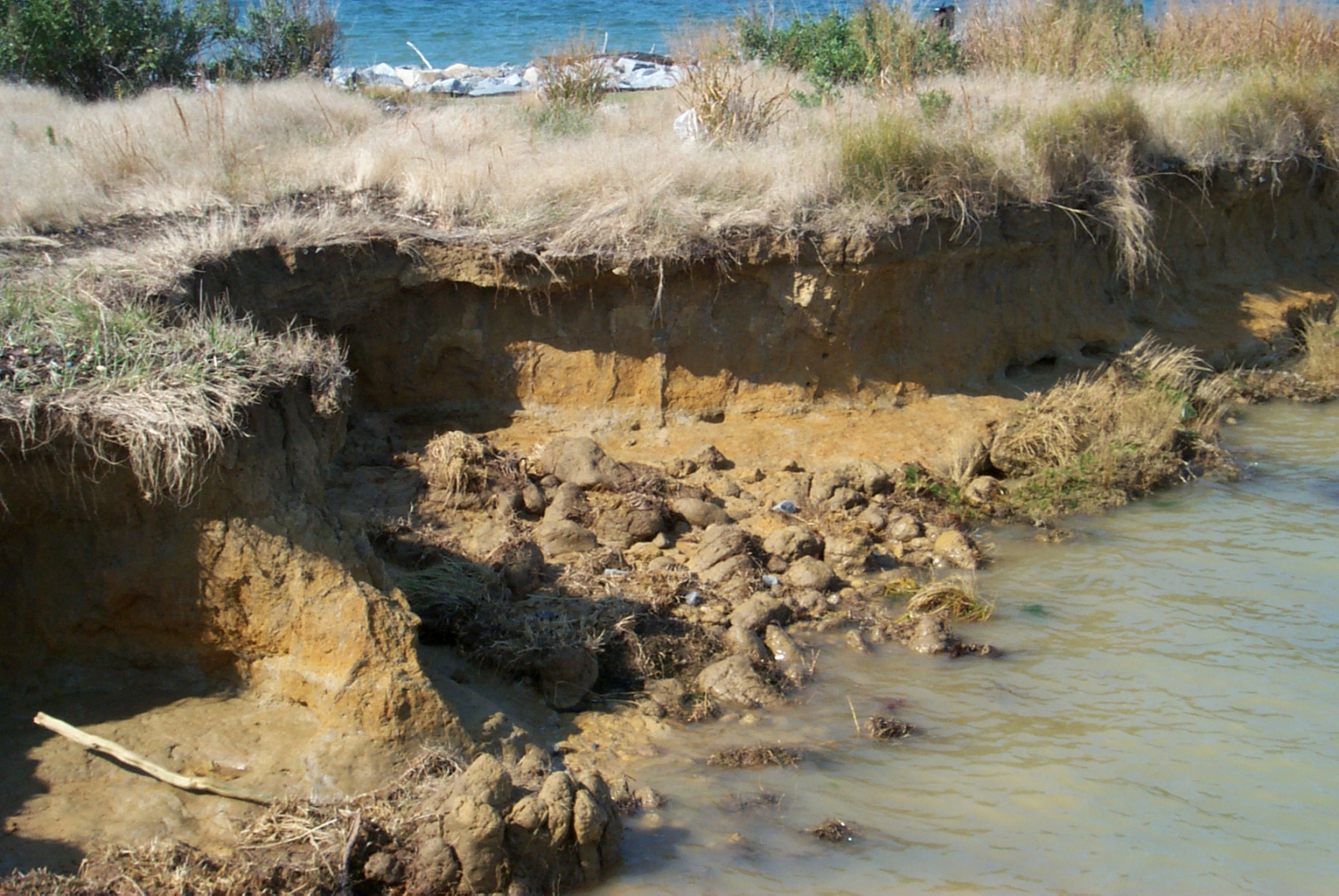 erosion and the lost of lives at the shoreline