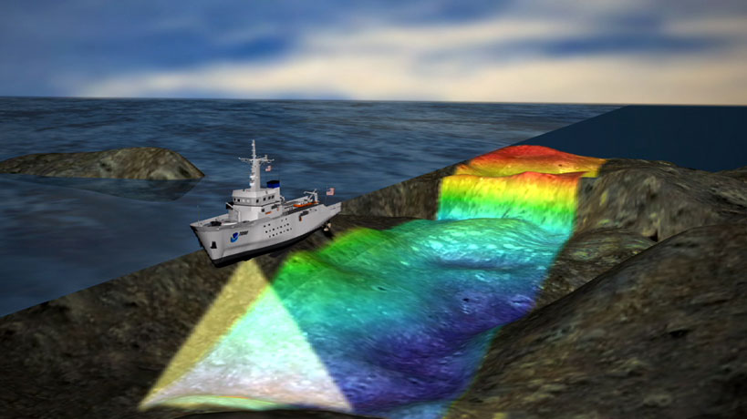 Mapping The New England Seamount Chain Maryland Sea Grant