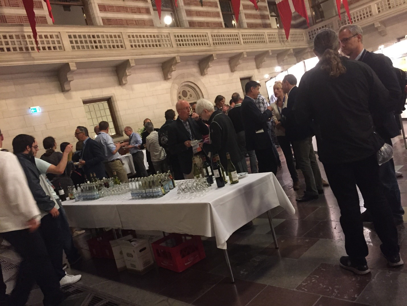 Social Event at Copenhagen City Hall