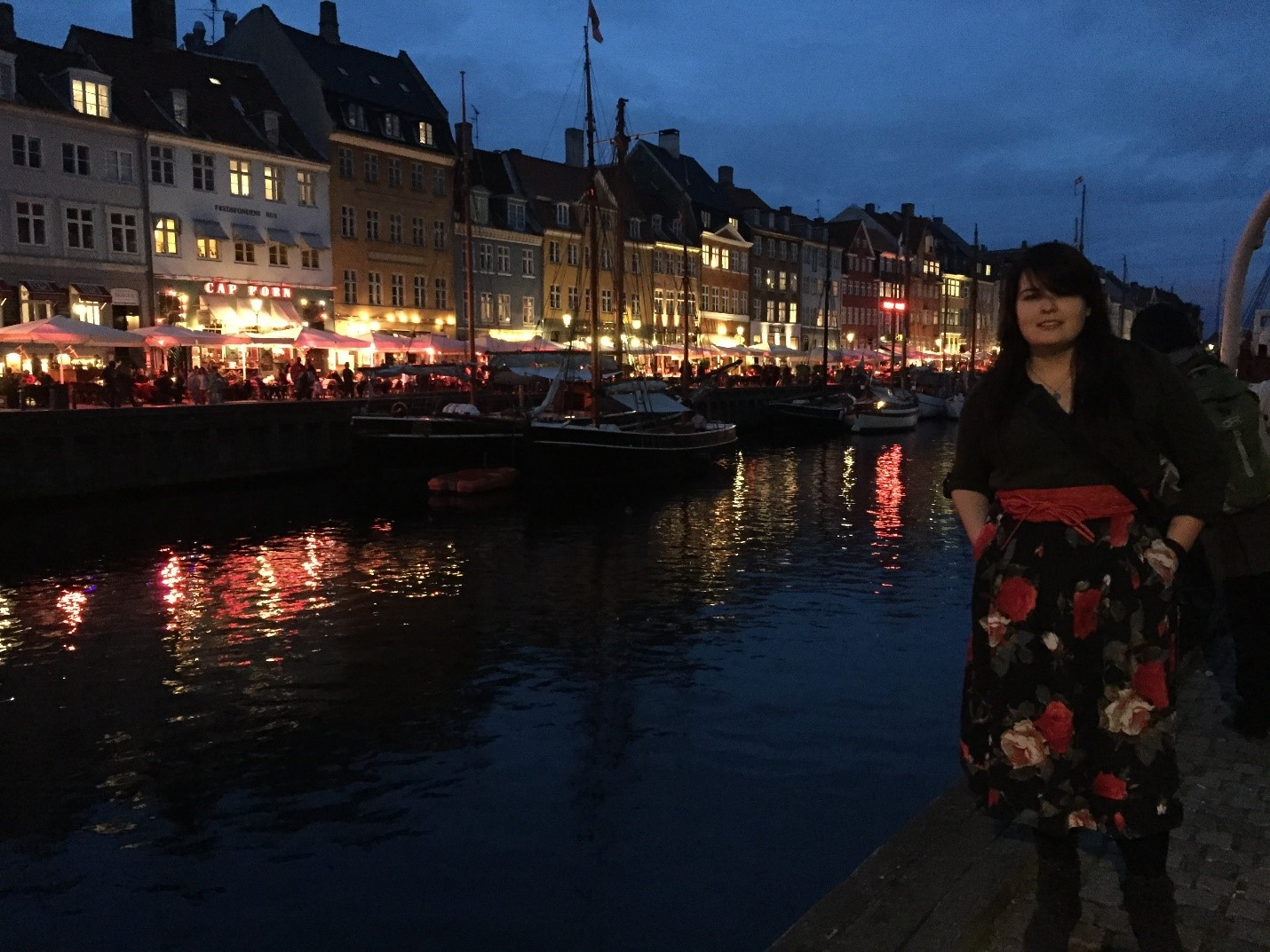 Copenhagen tourism! Pictured: The Author
