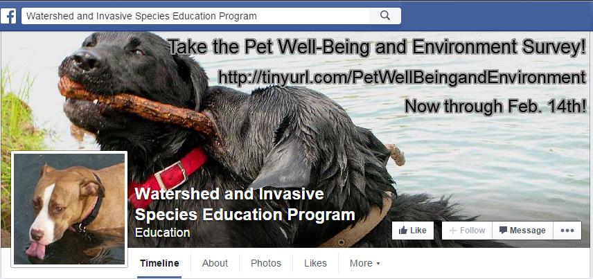 Facebook Header for Pet Well-being Survey