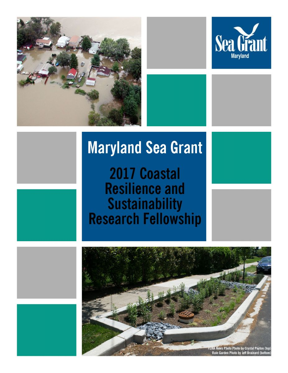 2017 Coastal Resilience and Sustainability Research Fellowship