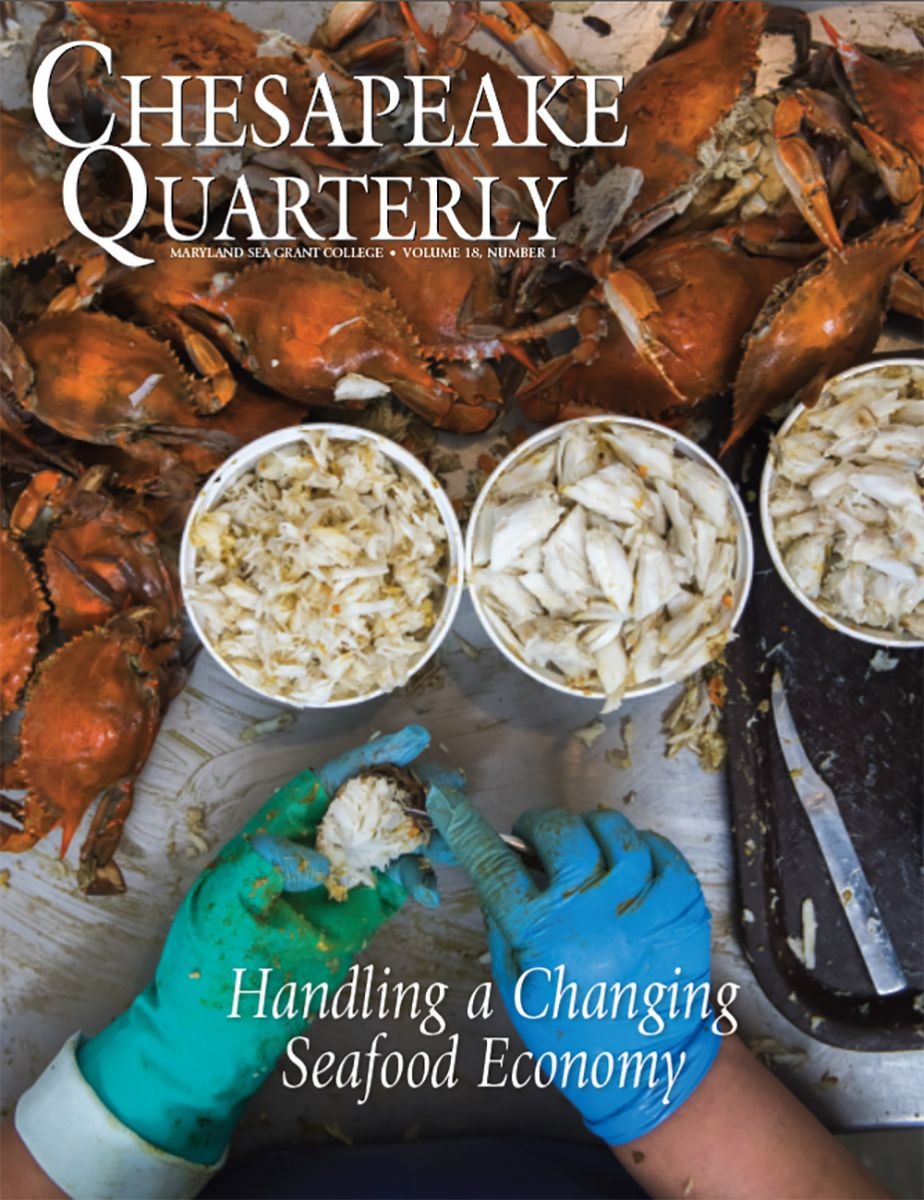 Cover: Chesapeake Quarterly Volume 18, Number 1
