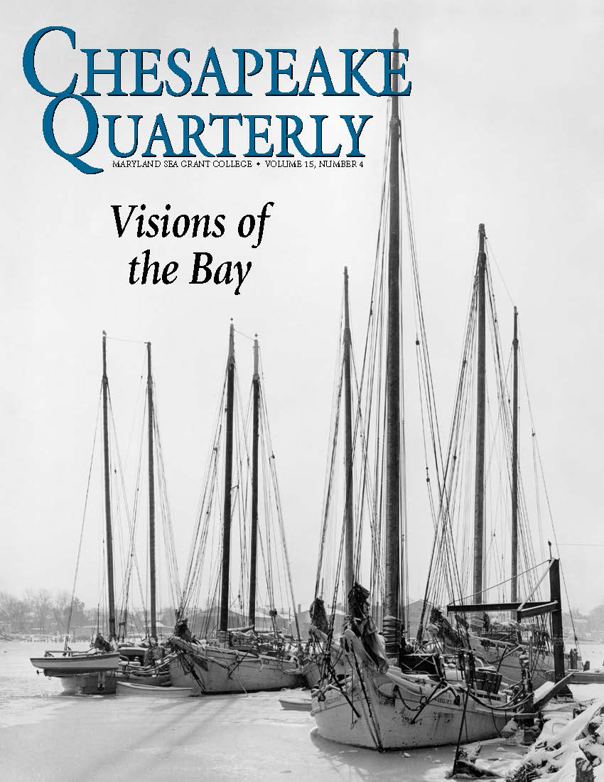 cover of Chesapeake Quarterly Volume 15 Issue 4
