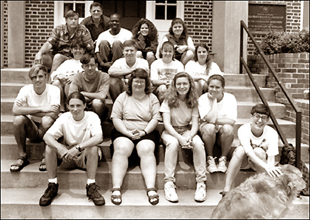 REU Class of 1995 - start of the fellowship