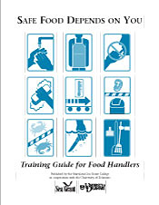 safe food depends on you training guide-cover