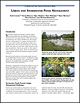 Urban and Stormwater Pond Management. A Sea Grant Extension Brief