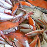 pile of cooked crabs