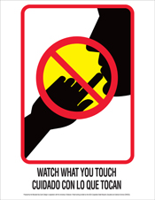 poster-watch what you touch