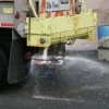 photo of road salt truck
