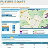 image of Future Coast map viewer for sea level rise