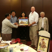 Business Specialist Teaches Aquaculture Farmers in Myanmar