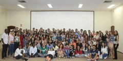 Participants and hosts of the Nitrogen school in Brazil. Photo credit: Nazanin Ak