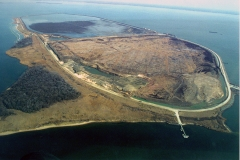 photo showing aerial view of Hart-Miller Island